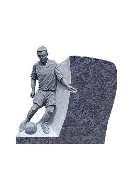 Grafmonument voetballer - Overkamp Gedenktekens