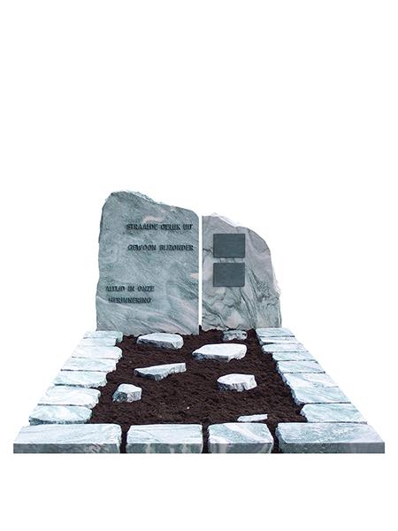 Monument ruwe steen - Overkamp Gedenktekens
