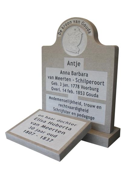 Anna van Meerten - Schilderoort grafmonument - Overkamp Gedenkteken