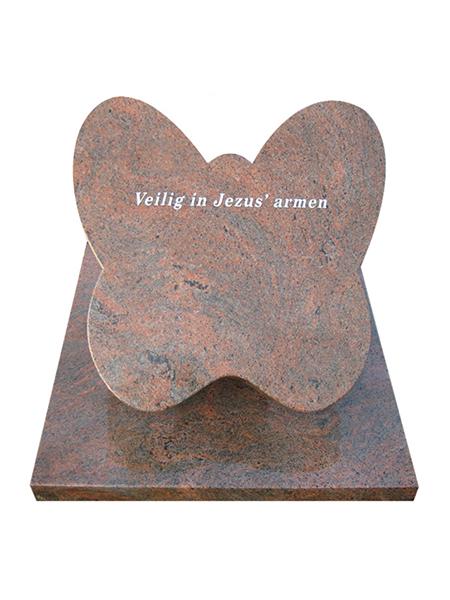 Algemene graf vlinder - Overkamp Gedenktekens