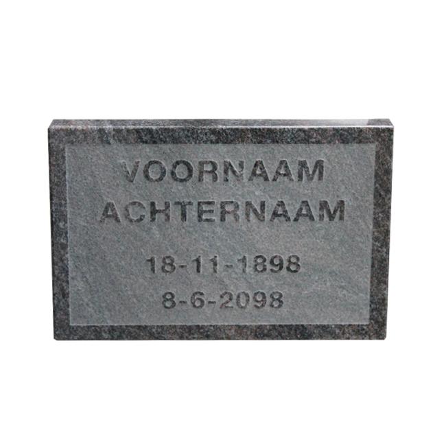 Tijdelijk gedenksteen - Overkamp Gedenktekens
