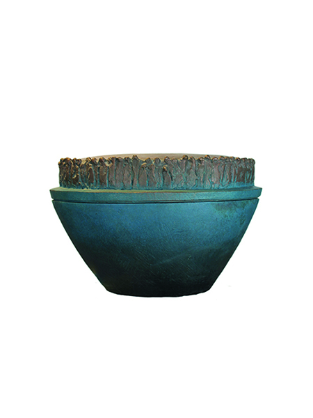 Bronzen urn optie 1
