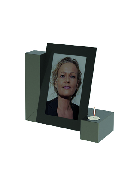 RVS PHOTO CANDLE Urn
