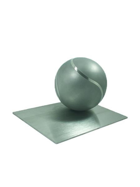 RVS Urn Tennisball