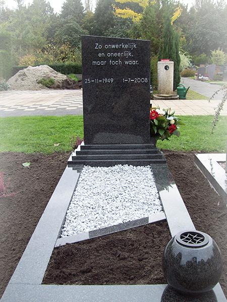 Impala graniet monument