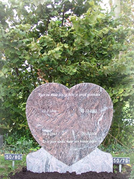 Paradiso Graniet monument